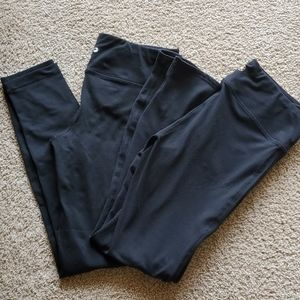 2 Pairs of Black Workout Leggings